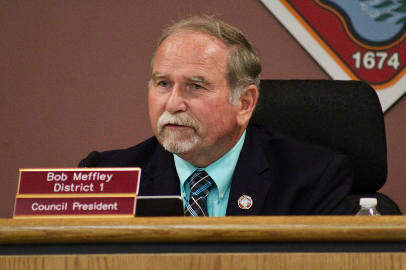 Council President Bob Meffley