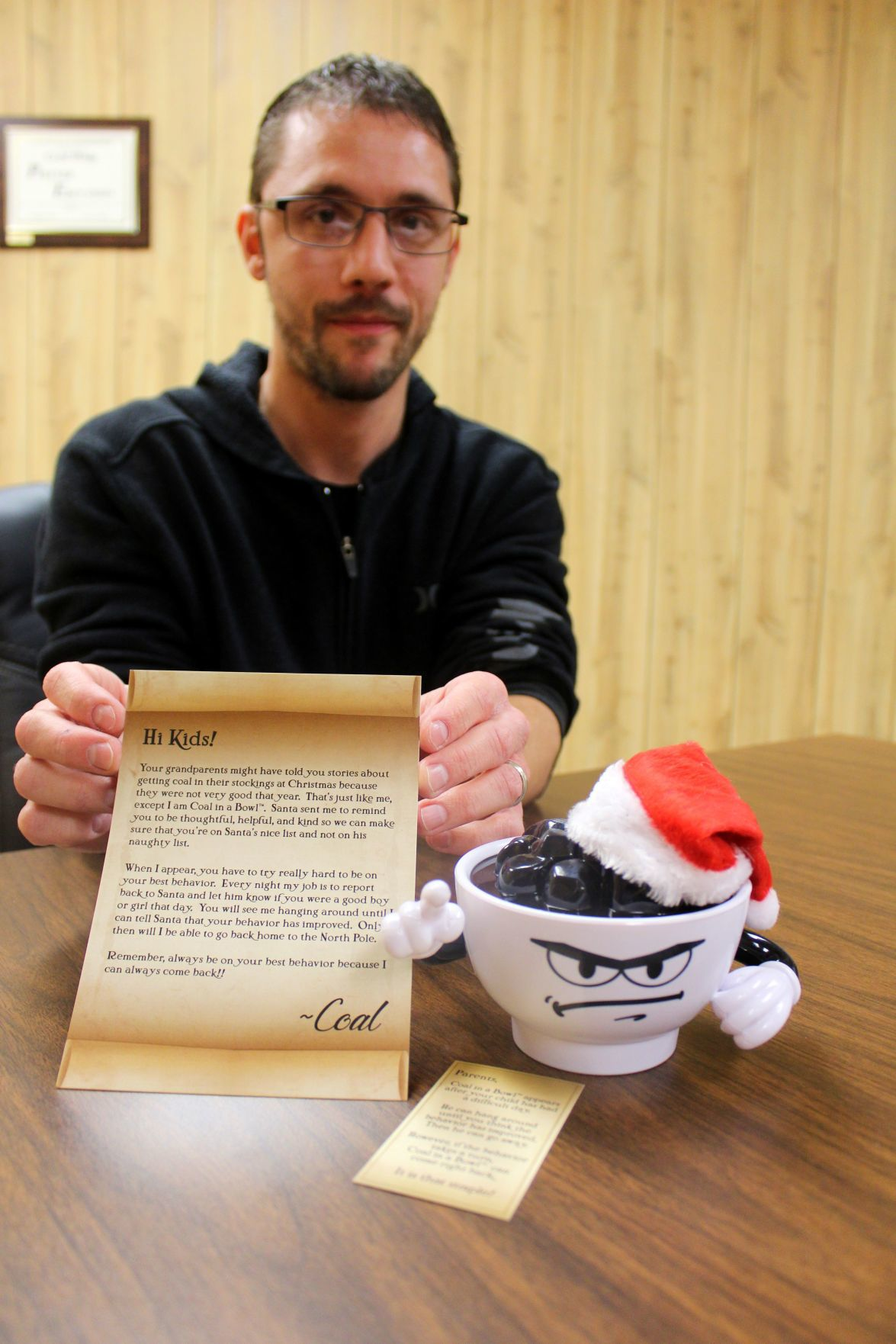 Chesapeake City man wants to help hectic parents this Christmas