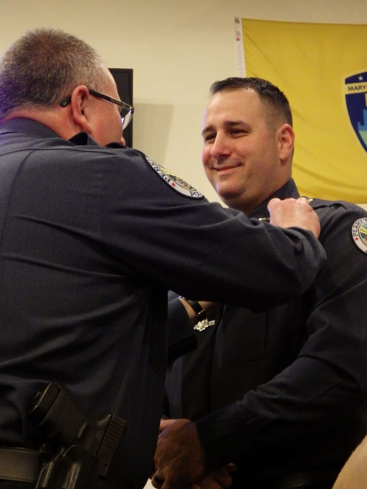 Chief Nitz moved his way up the ranks of the Perryville Police Department
