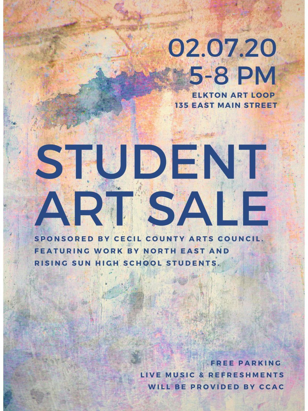 Student Art Sale