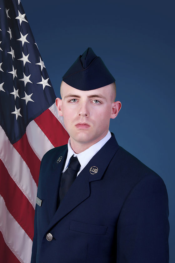 Alexander graduates from Air Force basic training