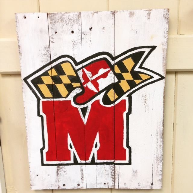 Md pallet art harford county cecildaily show your maryland pride and have fun while doing so during a do it yourself workshop at the green door solutioingenieria Gallery