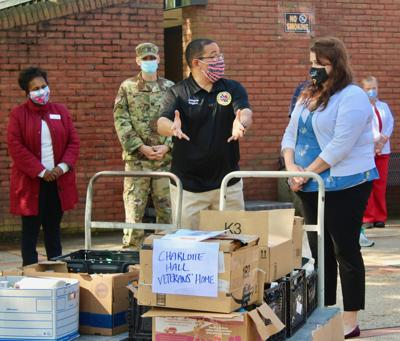 State pulls supplies together for veterans home