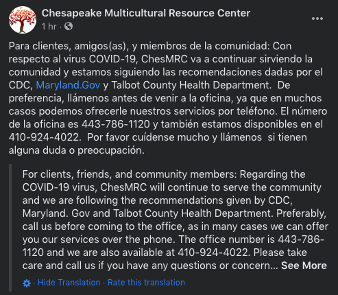 ChesMRC works to keep community updated
