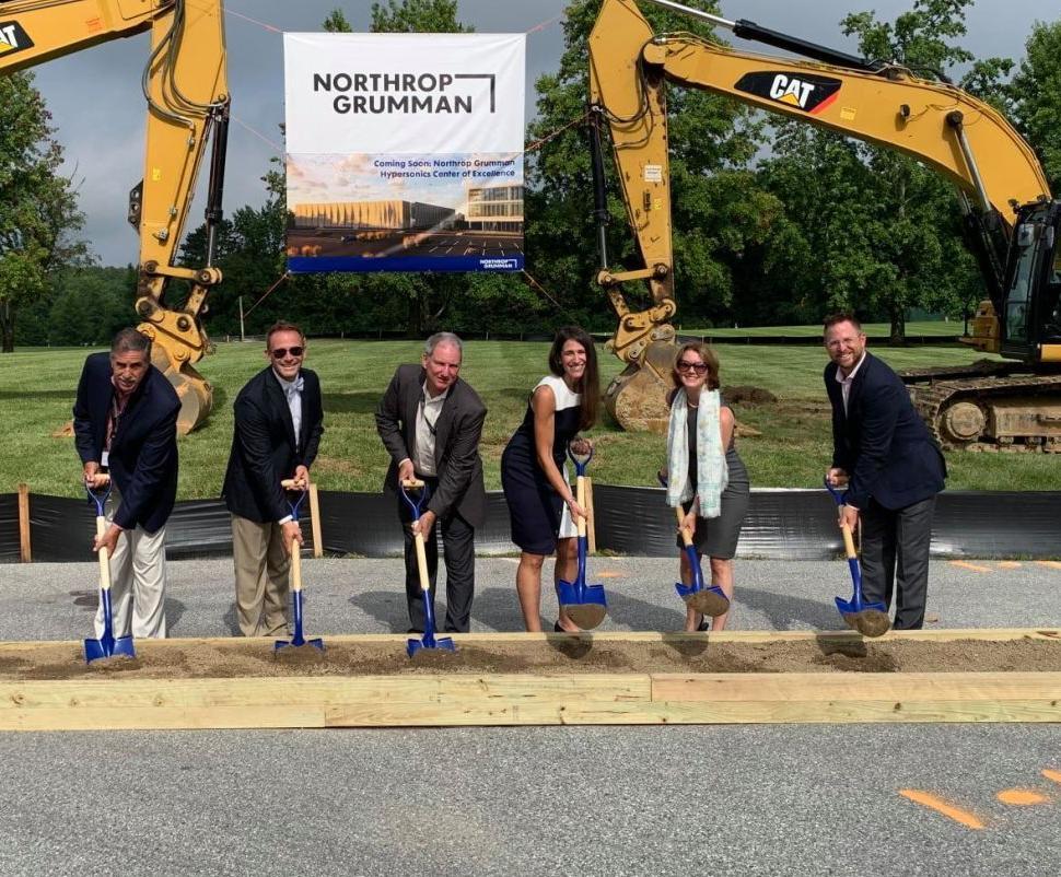 Northrop Grumman breaks ground on new Elkton facility