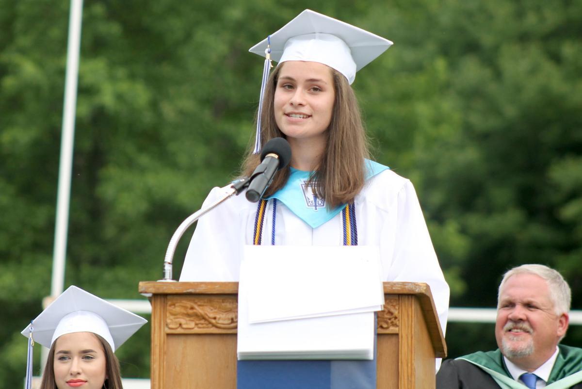 NEHS graduation