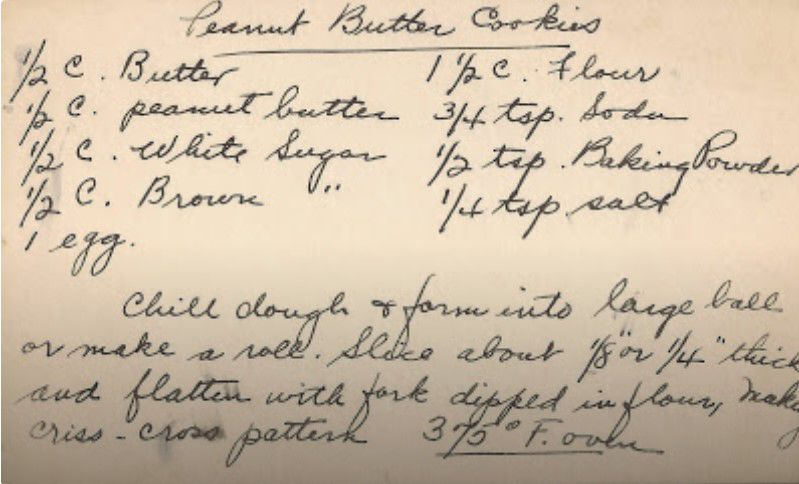 Preserving vintage recipes