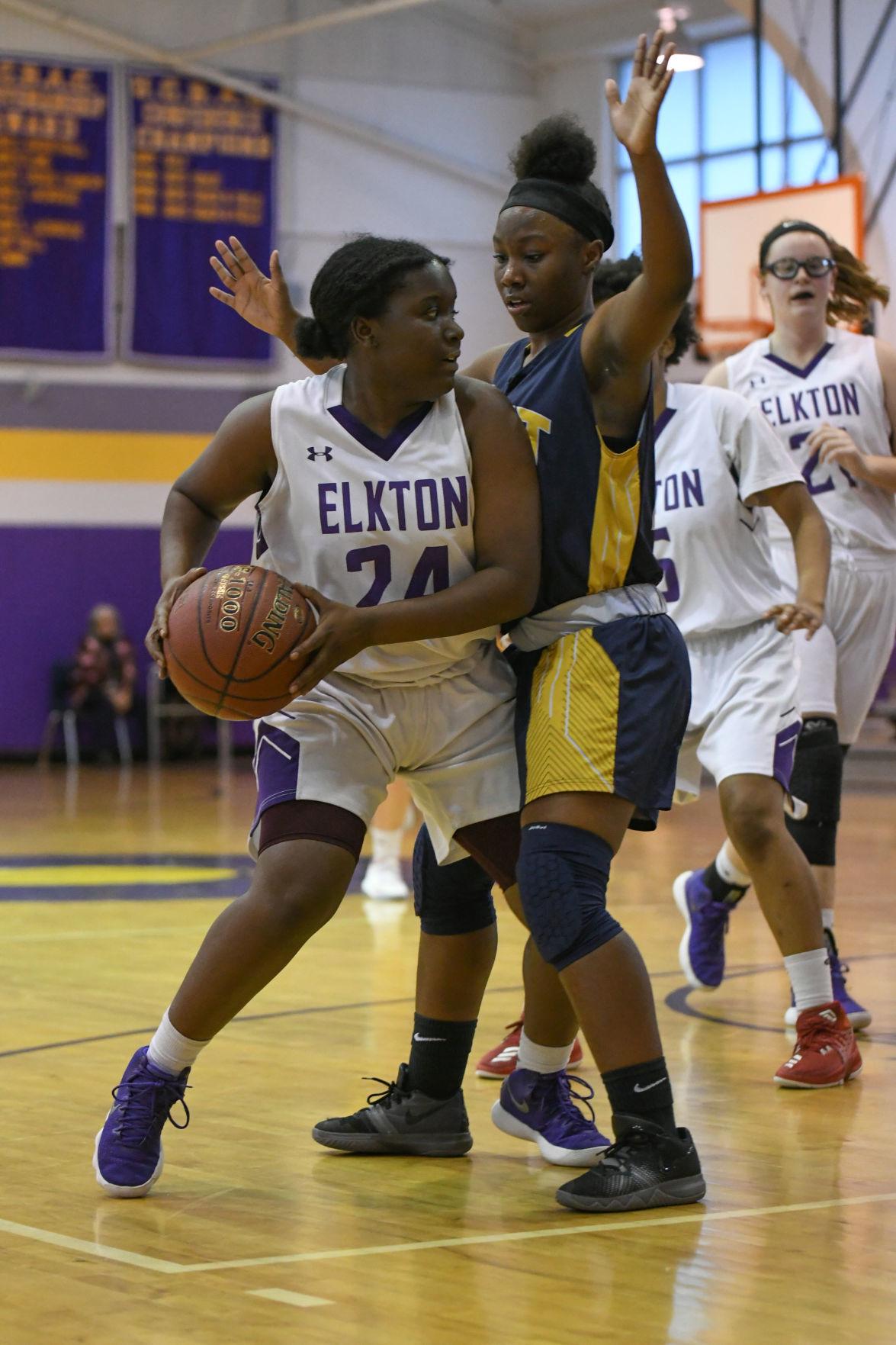 Elkton vs. Kent County girls' basketball