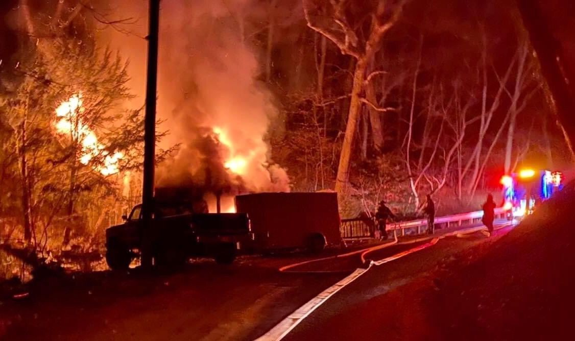Canal Road fire