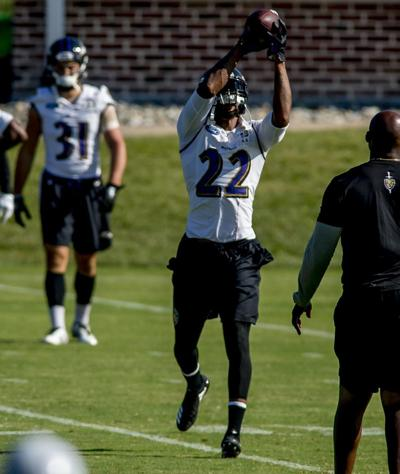 38e1a4ded5b Jimmy Smith practiced Wednesday for the first time since the NFL announced a  four-game suspension of the Ravens cornerback in August.