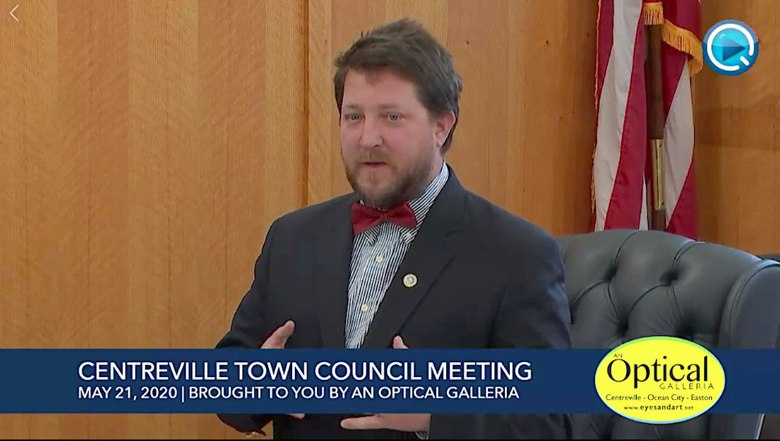 Centreville Town Council — May 21