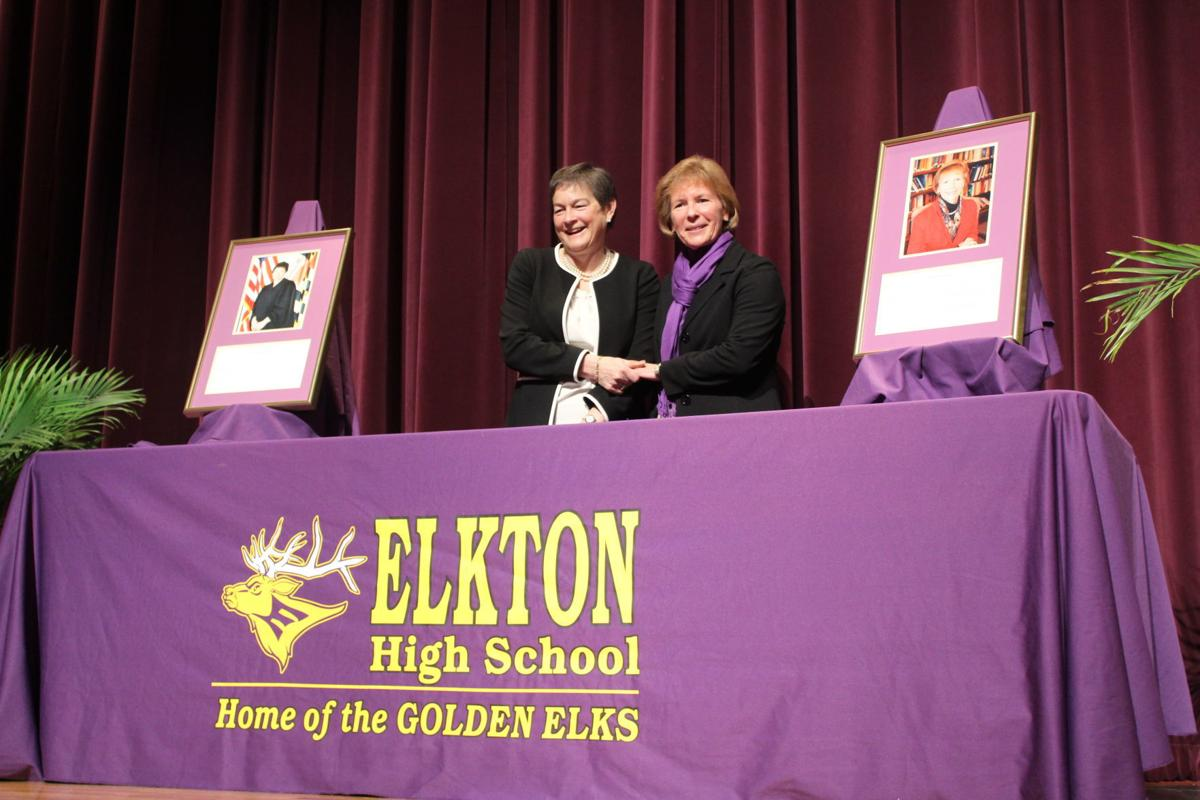 Elkton High School adds Murray, Webber to Wall of Fame