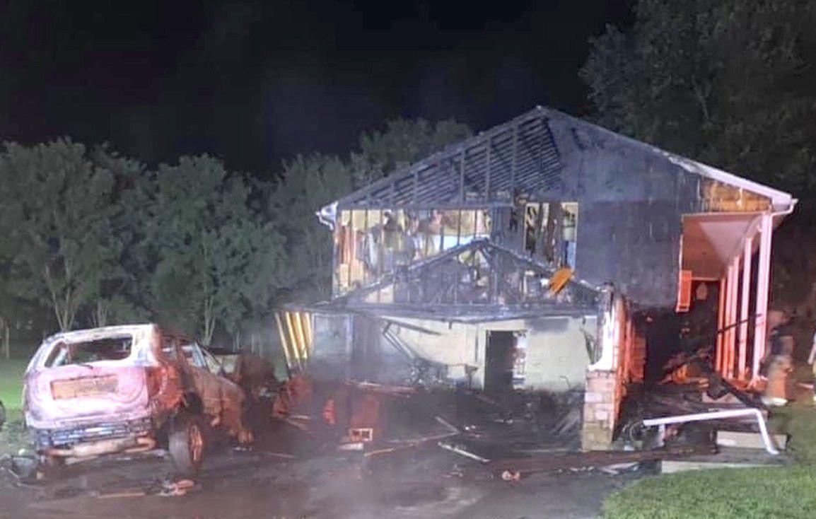 Elkton-area house fire