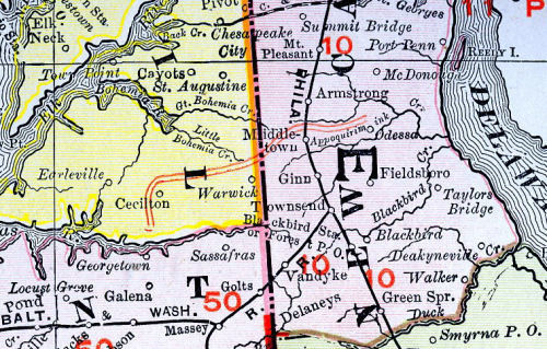 map-middletown-cecilton-railroad-stock