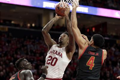 Indiana Maryland Basketball