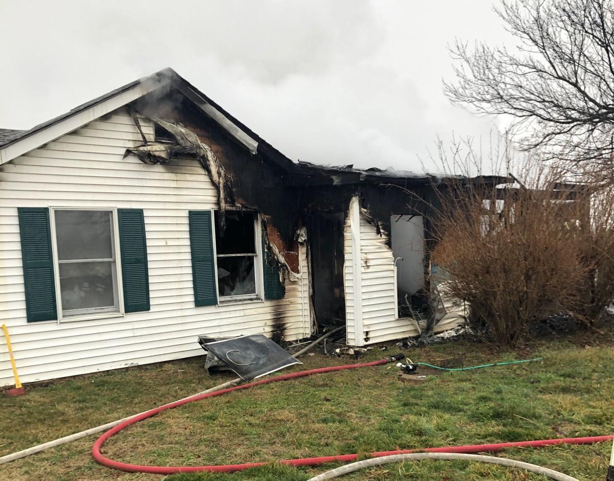 Earleville house fire