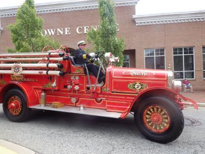 Fire companies parade in Elkton