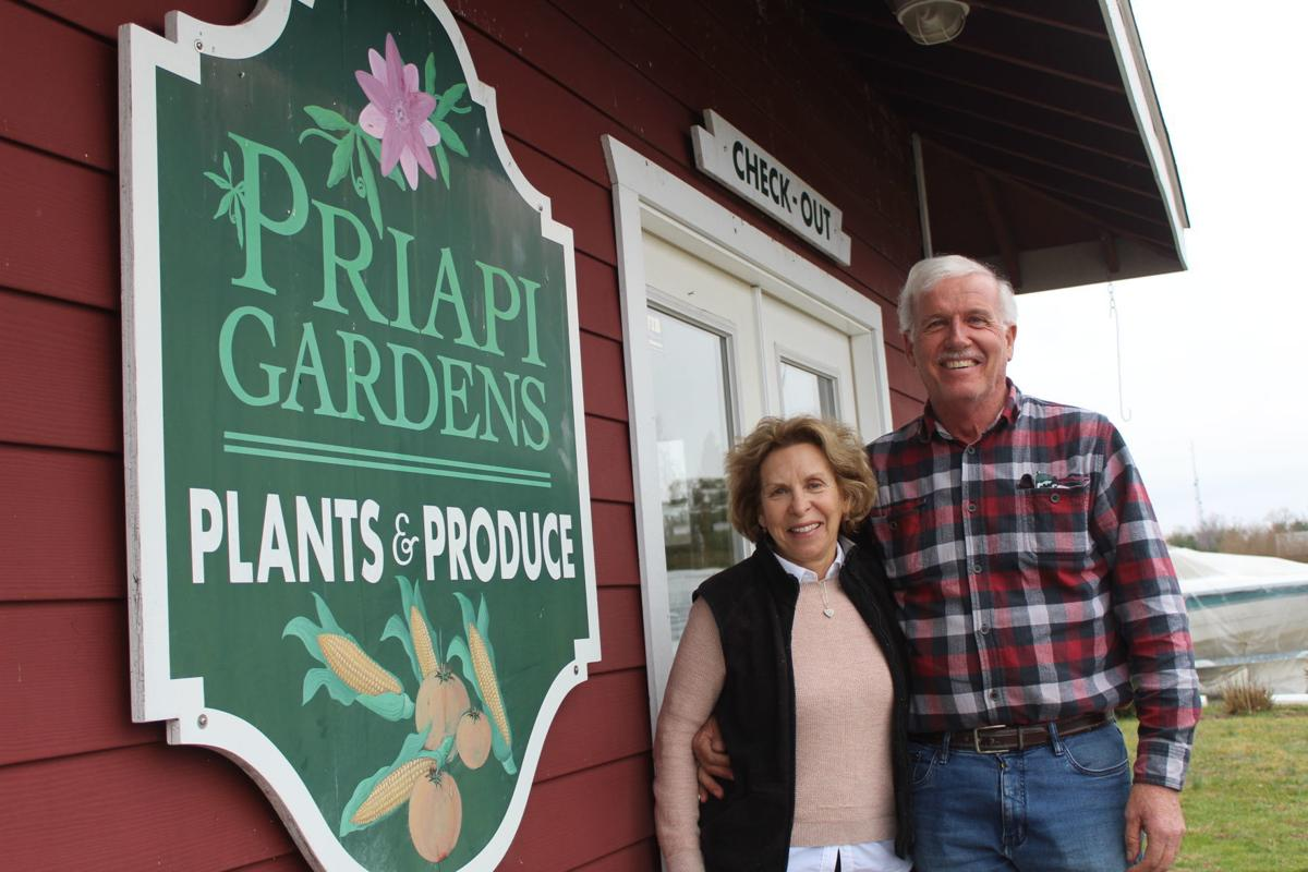 Mary and Vic Priapi ISO the right buyer for Priapi Gardens
