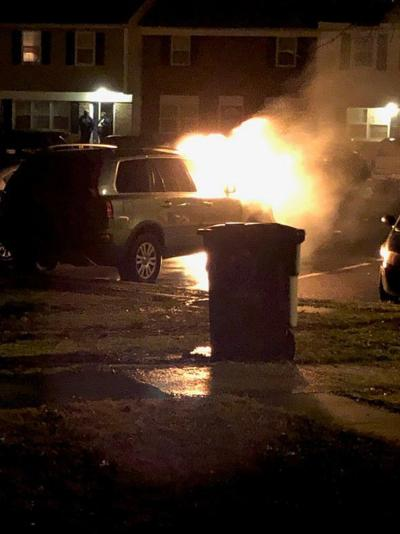 Elkton area vehicle fire under invetigation