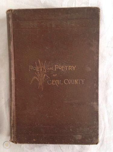 Poets & Poetry of Cecil County