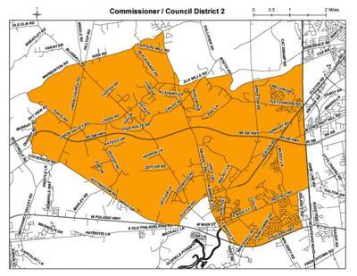 Council District 2 Map