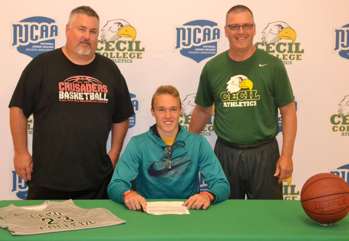 Jacob Falko signs with Cecil