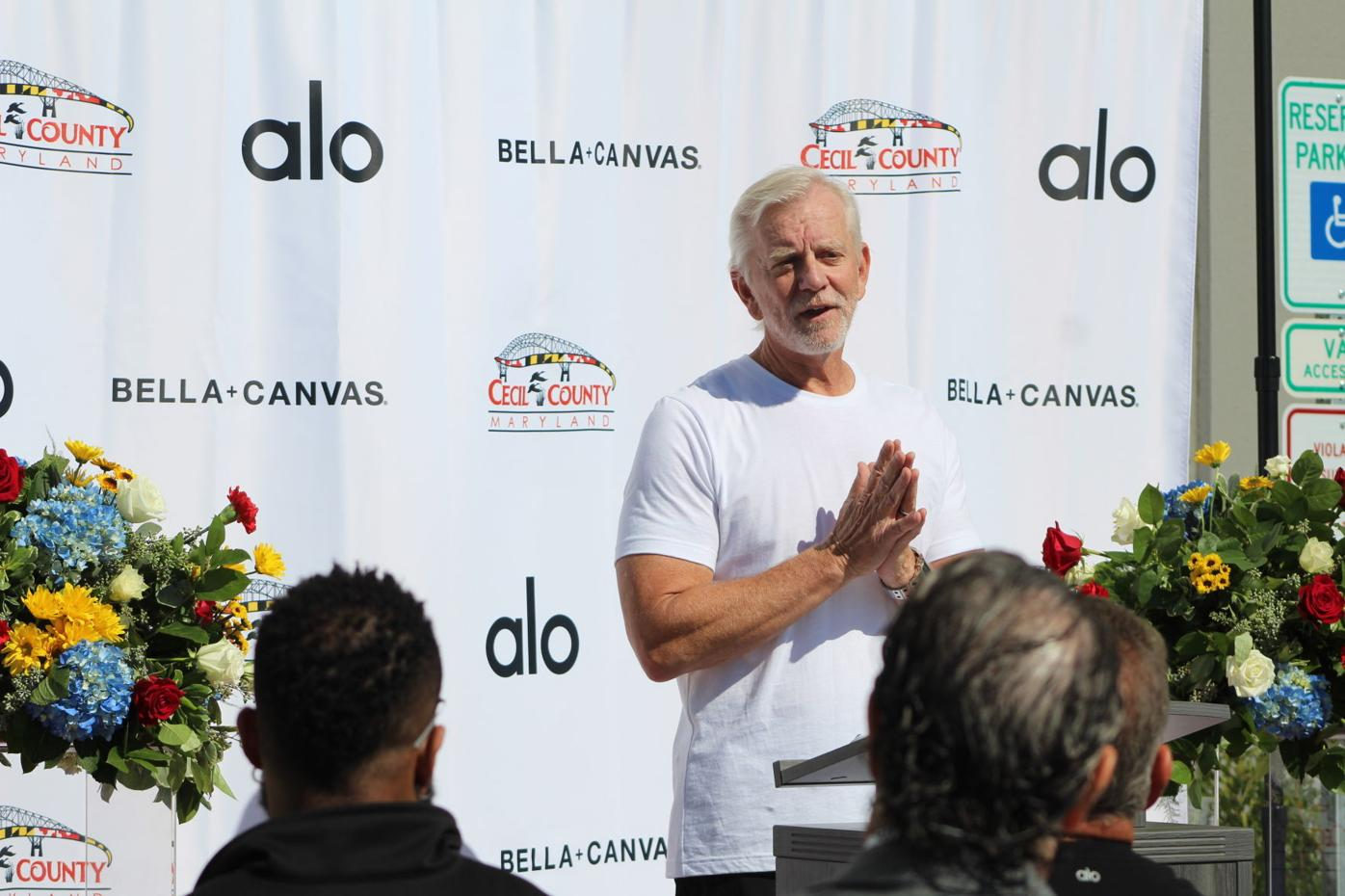 ALO Yoga and Bella + Canvas celebrate North East Commons site