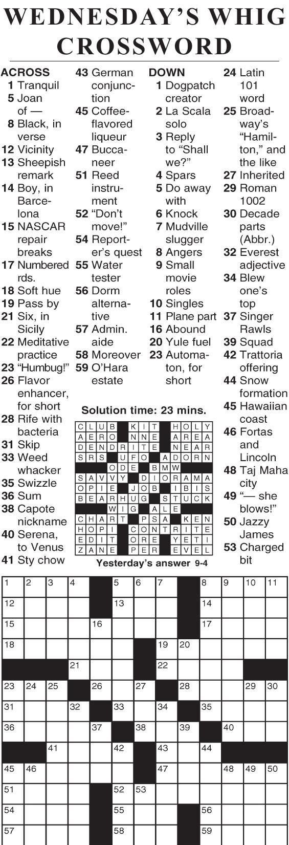0904 crossword