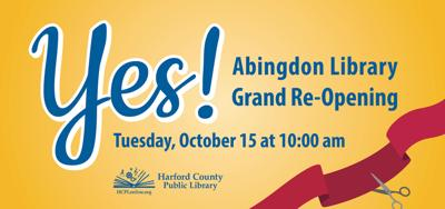 Abingdon Library Reopening