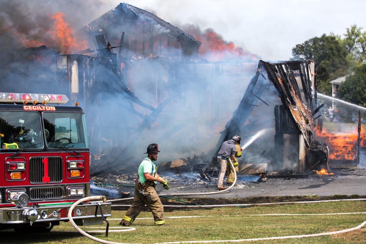Bay View Estates fire