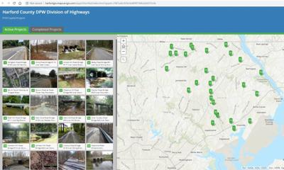 Harford County interactive map