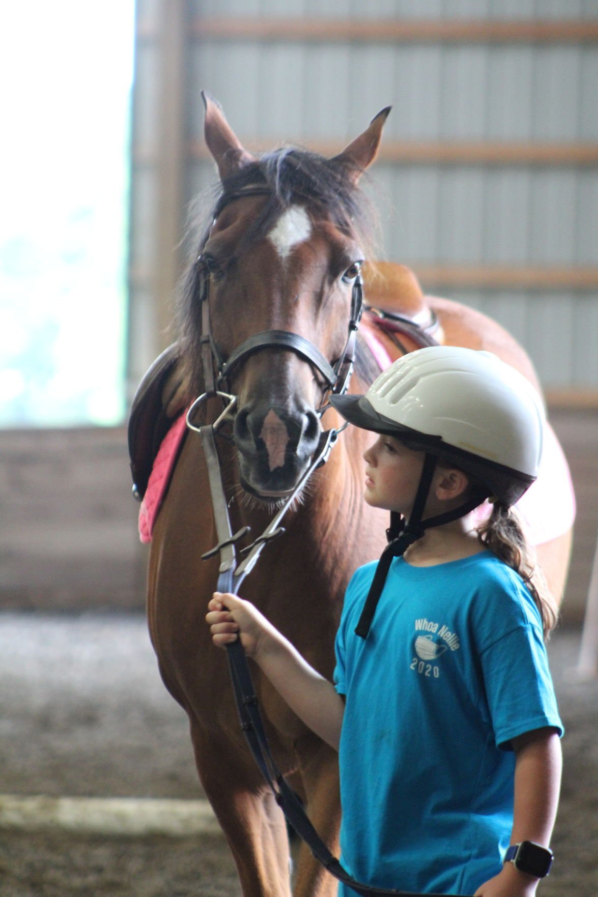 """Whoa Nellie offers a """"fo"""" fair for young equestrians missing the Cecil County Fair"""