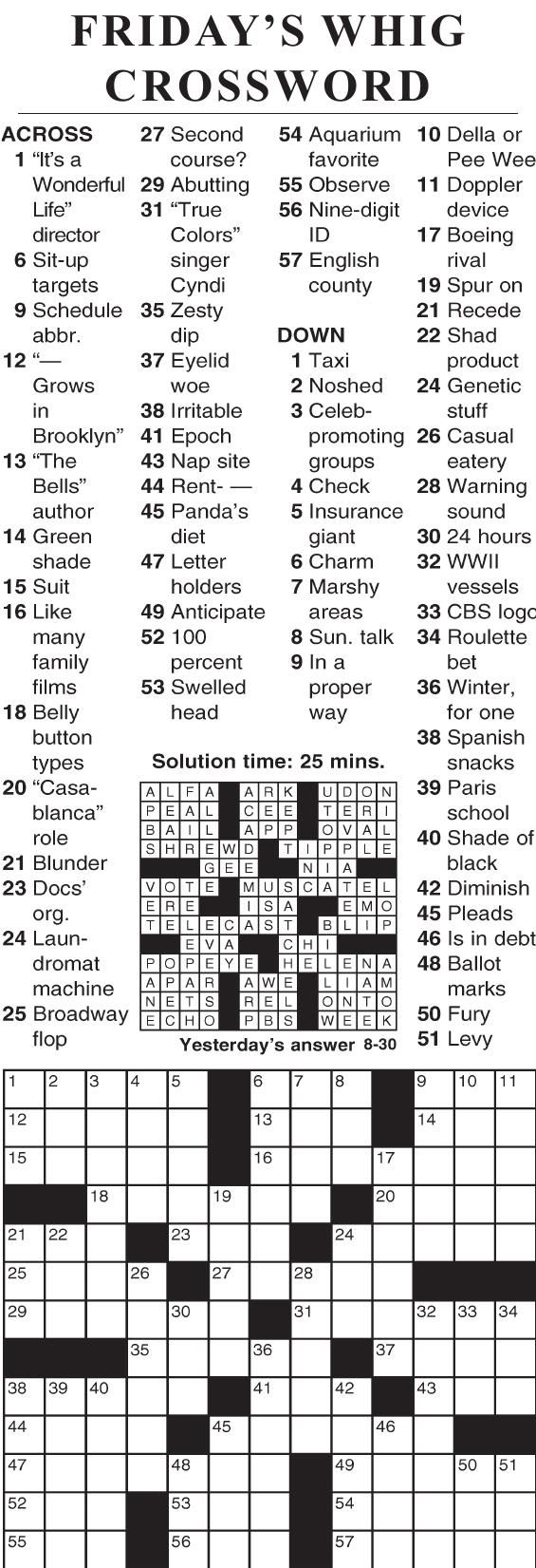 0830 crossword