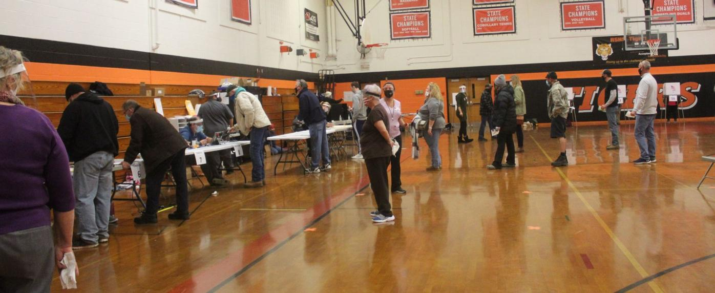 Long lines greet voters in Tuesday's general election