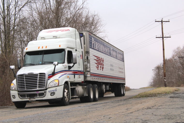 College trucking audition