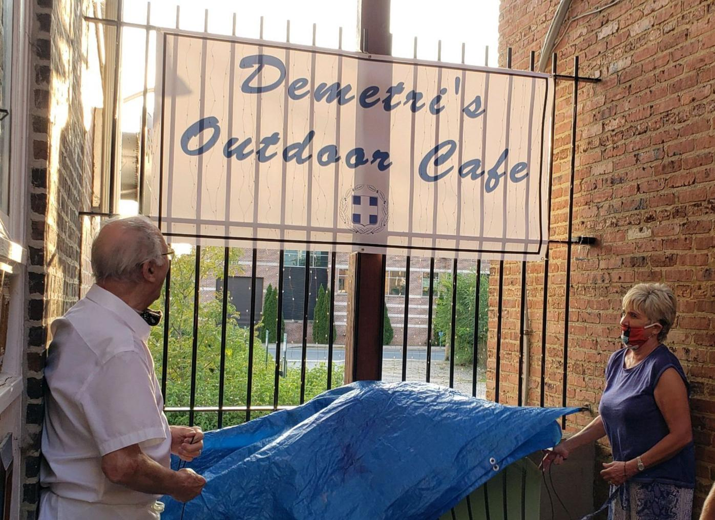 Demetri's Outdoor Cafe opens on North Street in Elkton