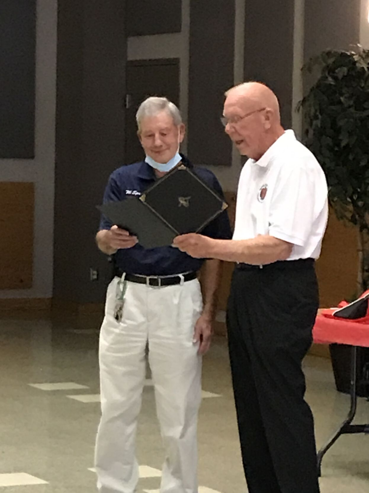 Rising Sun firefighters honored