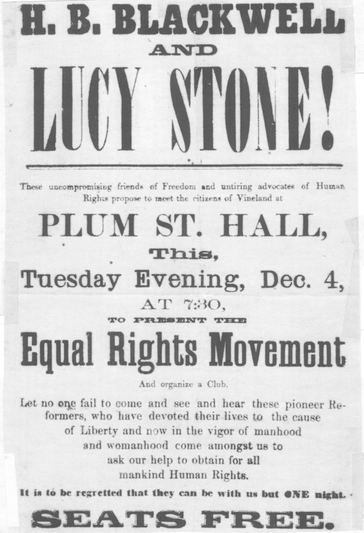 Image result for lucy stone orator poster