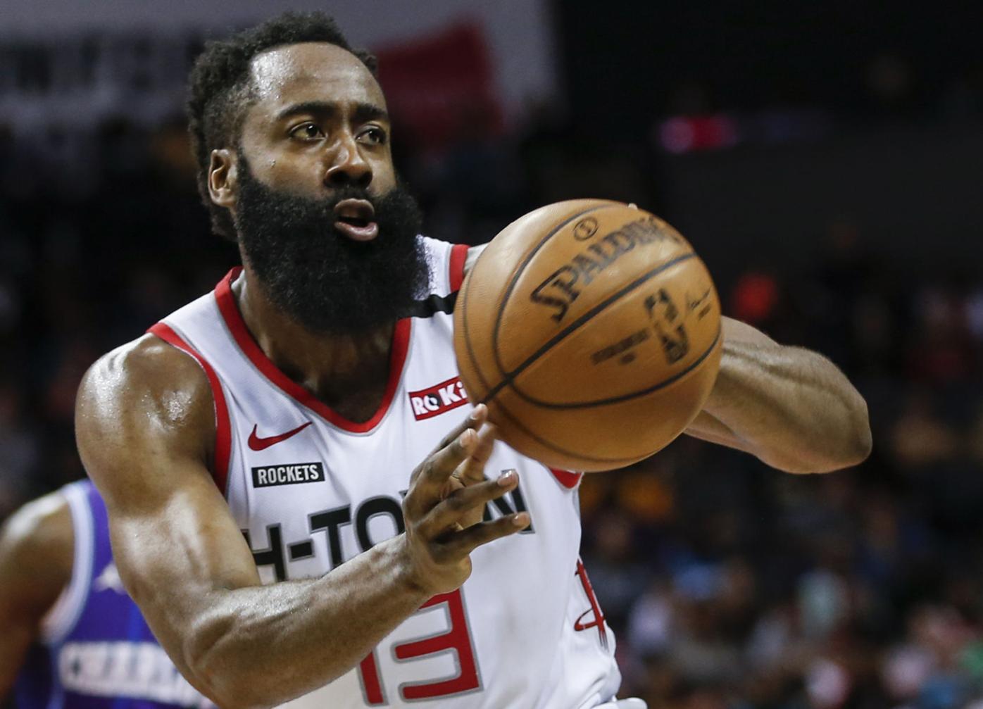 NBA Restart Harden Basketball