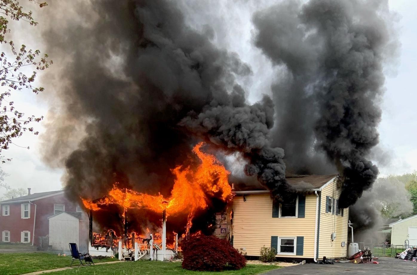Elkton arson charges