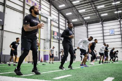 bef3f0ea Fully recovered from broken leg, Earl Thomas making plays for Ravens ...