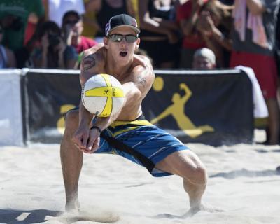 Tokyo Olympics COVID Beach Volleyball