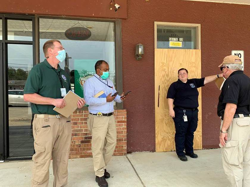 Officials tour storm damage in Cecil County