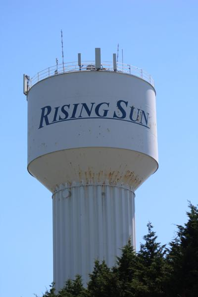 Rising Sun's water tower