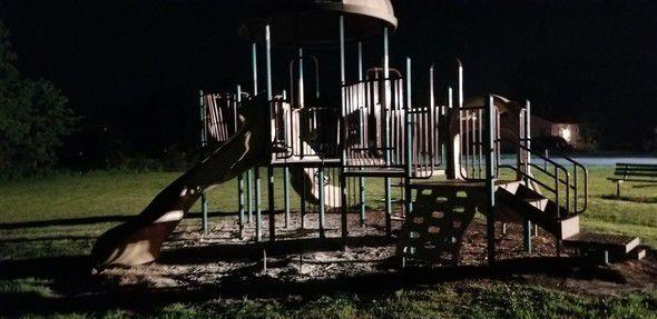 Playground fire