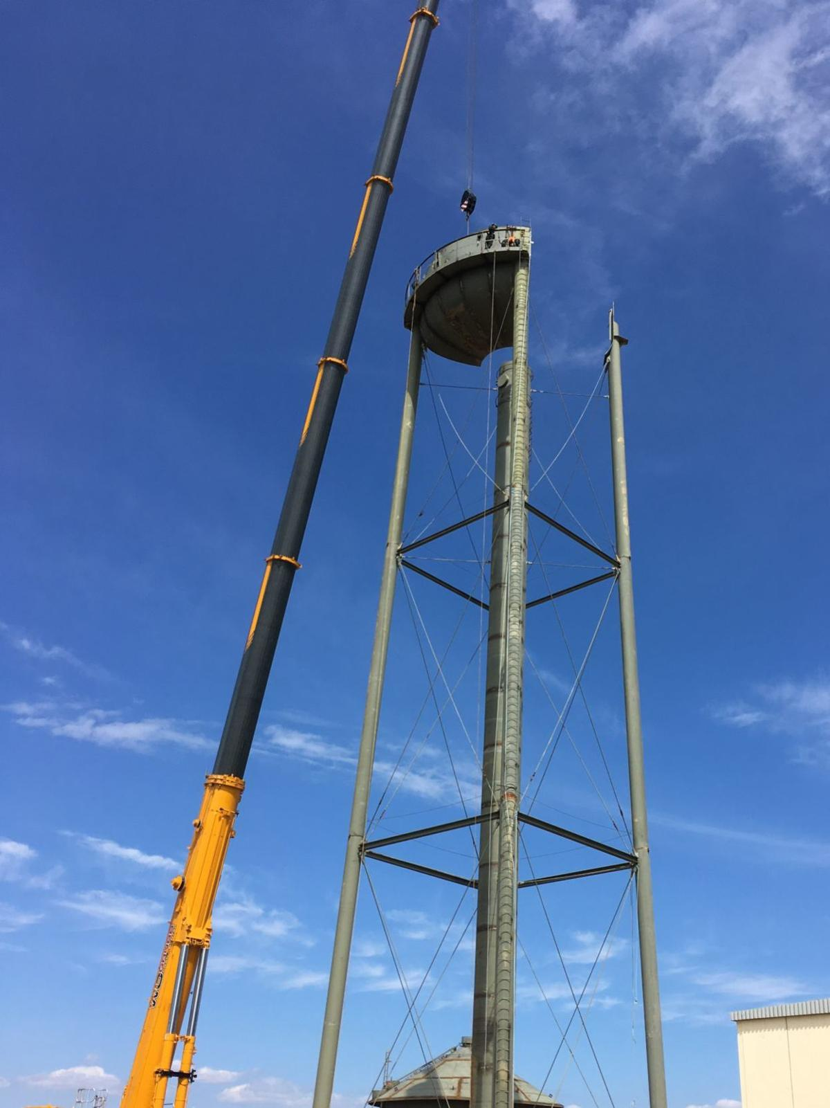 Water tower added to Fair Hill skyline