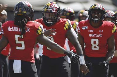 Maryland Quarterbacks Football