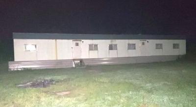 Elkton trailer fire