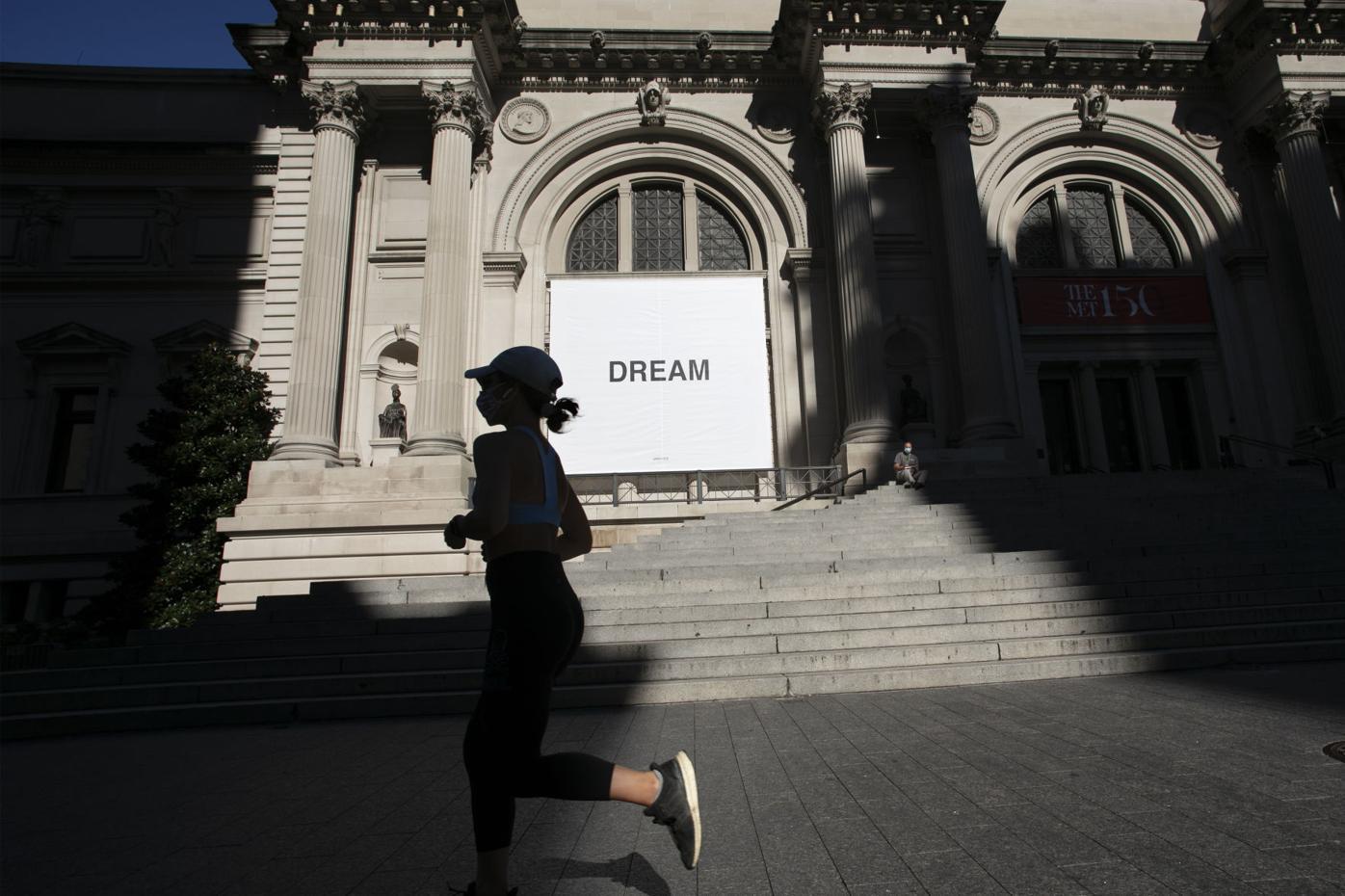 Virus Outbreak New York Museum