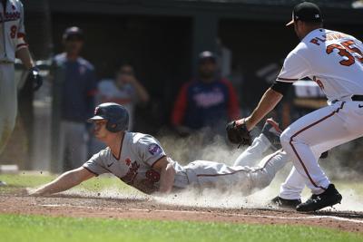 Twins Orioles Baseball